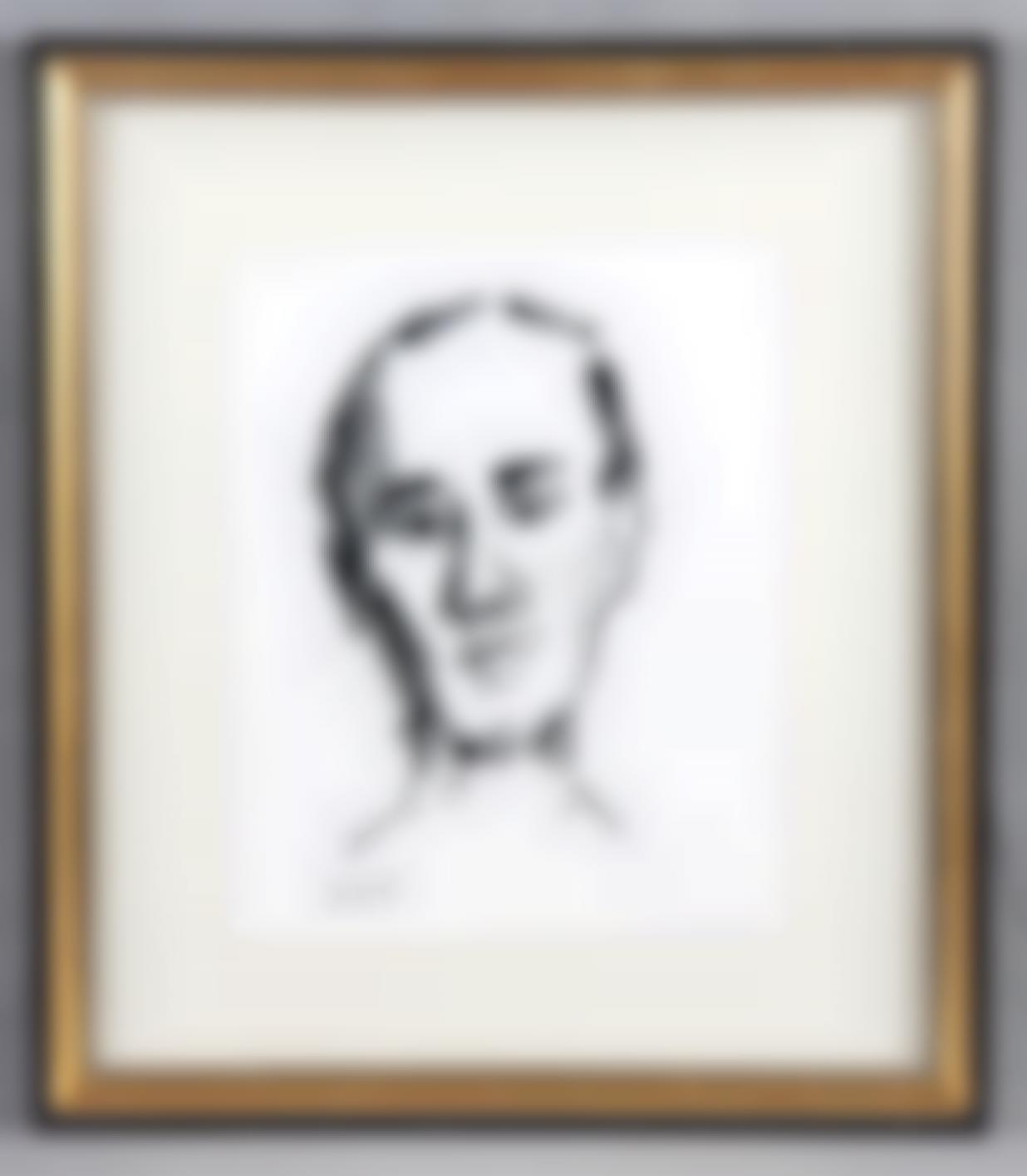 Gonzalez De La Serna, Ismael - Head of young-