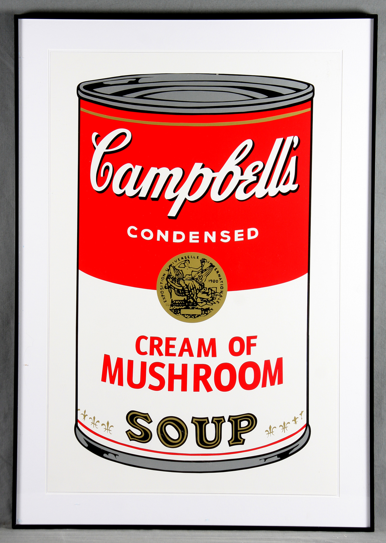 Andy Warhol-Campbell's Soup Can 11.53. Cream of Mushroom-1988
