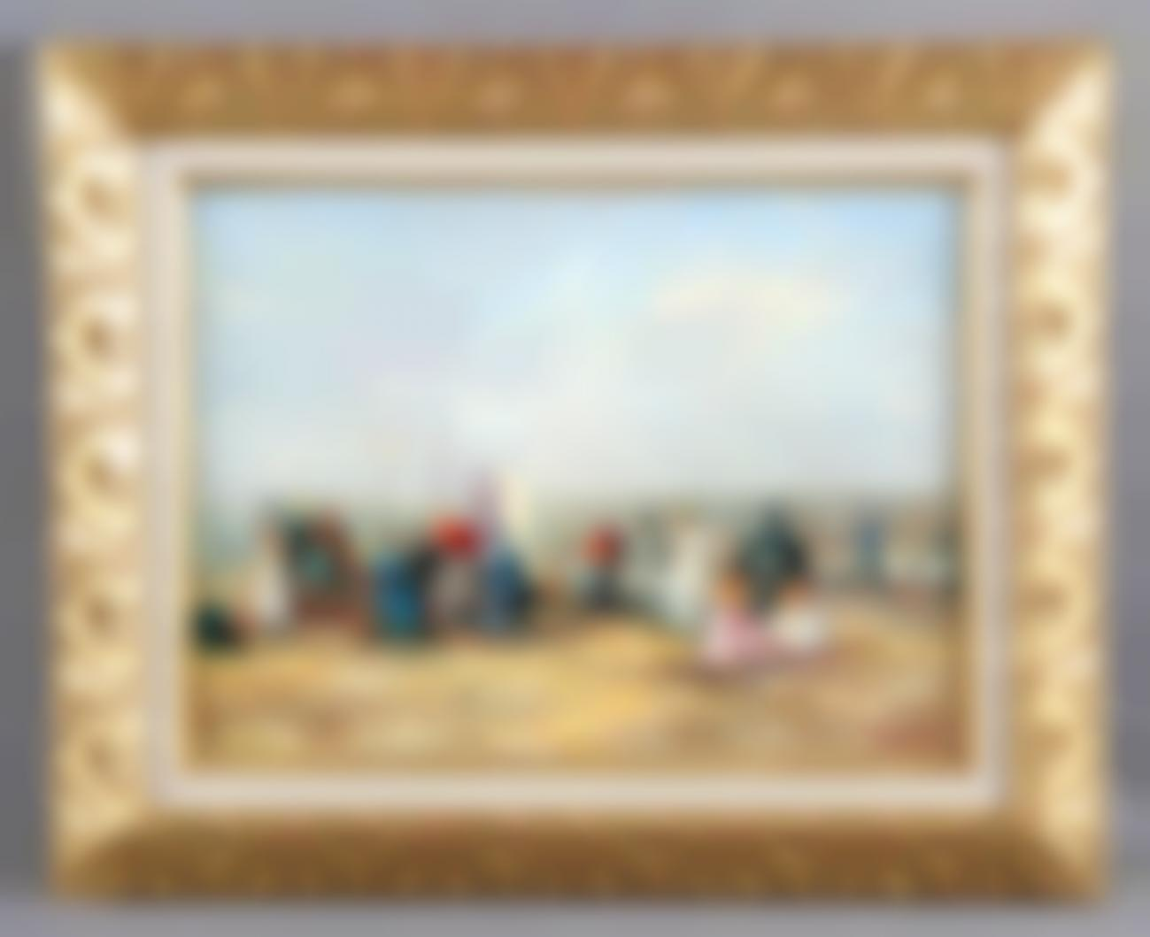 Rousseau, Camille - Games on the beach-
