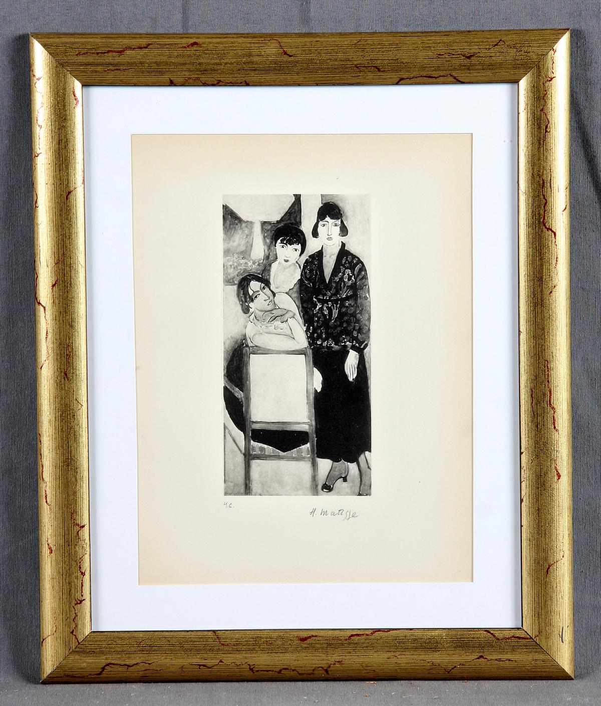 Henri Matisse-Les Trois Soeurs-
