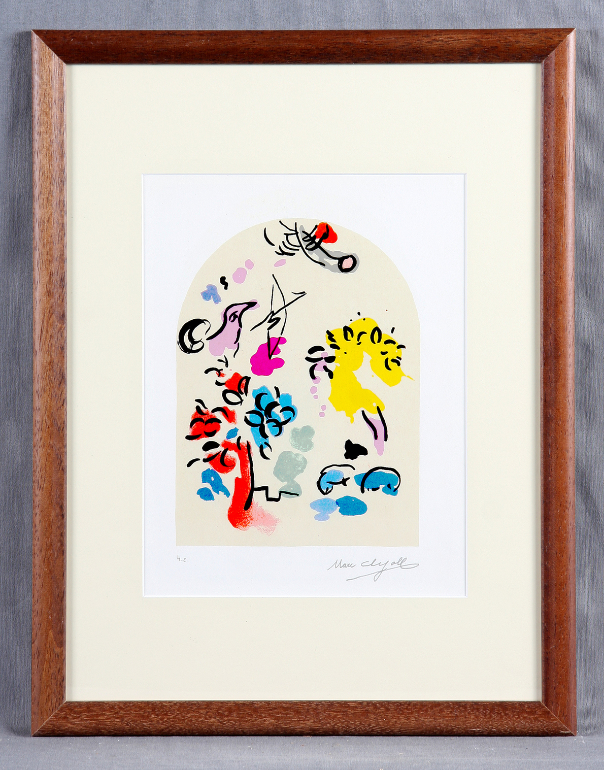 Marc Chagall-Tribe of Joseph, Jerusalem Windows-