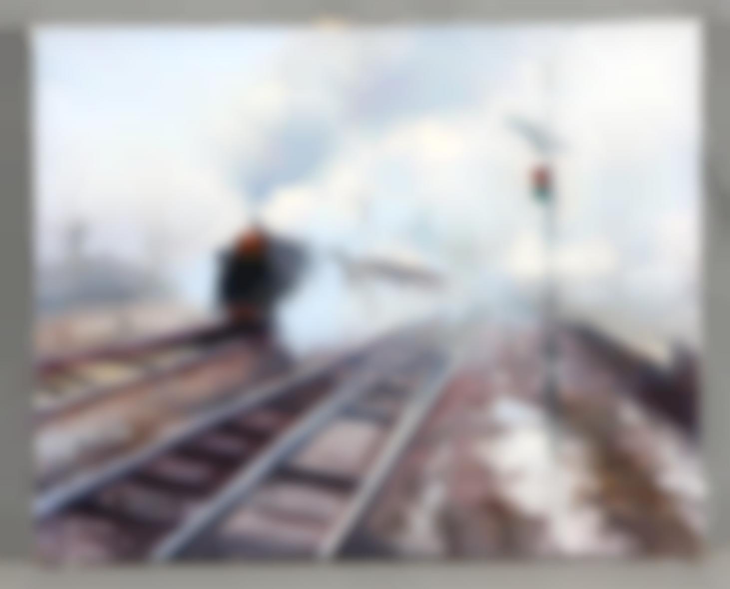 Caballero, Salvador - The train-