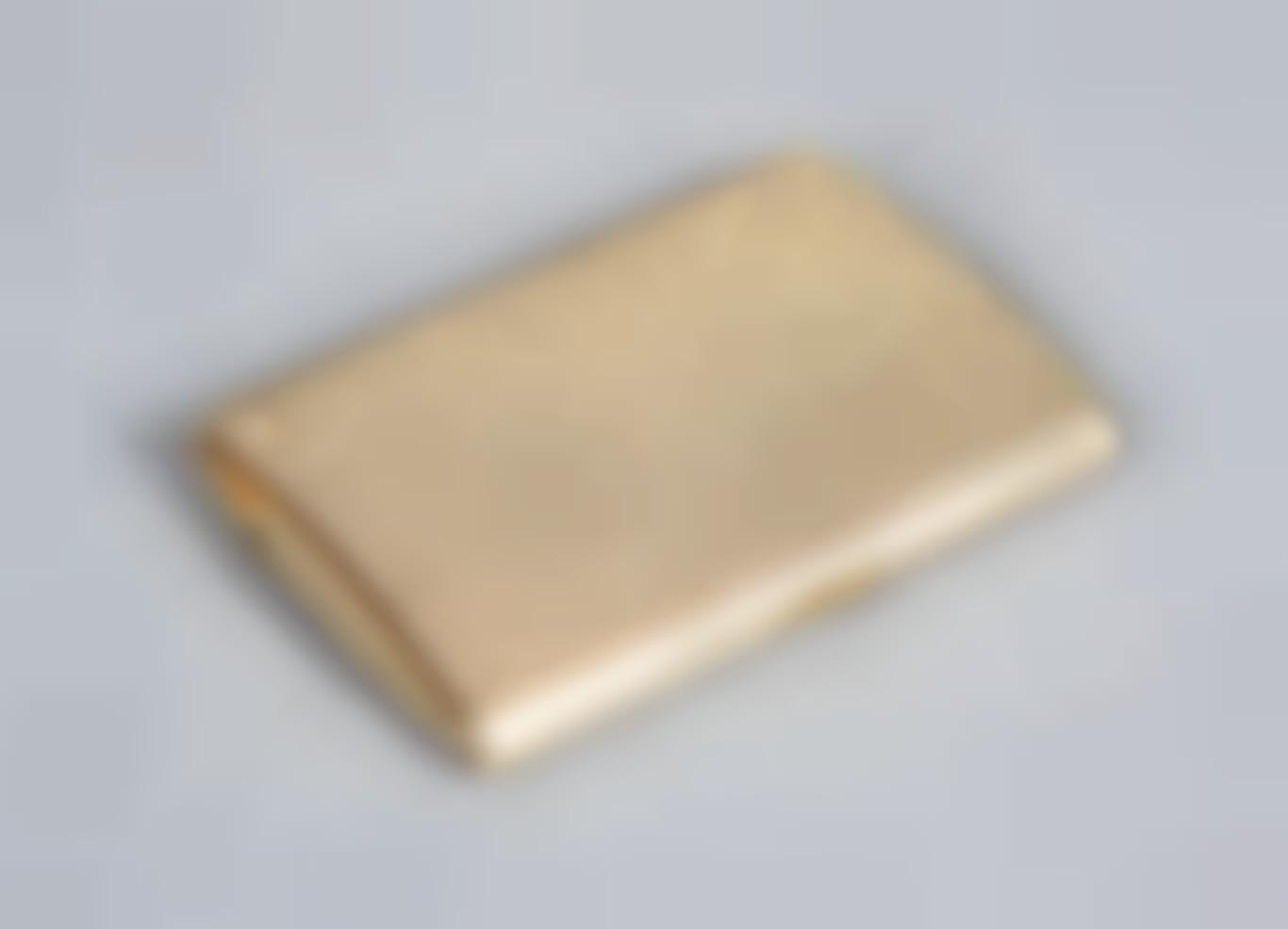 Agilt Metal Cigarette Case Lighter-