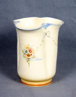 Peyro Spanish Polychrome Porcelain Vase-1940