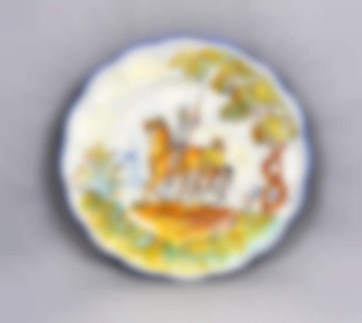 Pinero. Talavera Ceramic Plate-