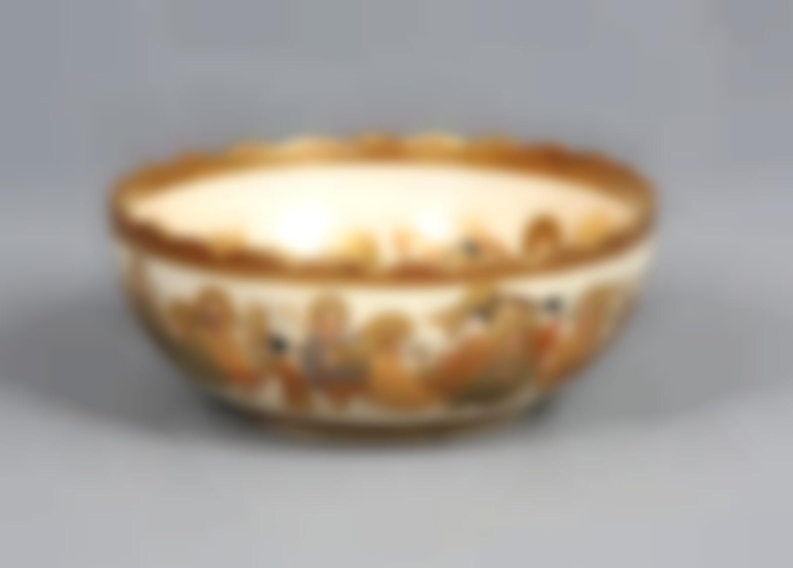 A Japanese Satsuma Porcelain Bowl-