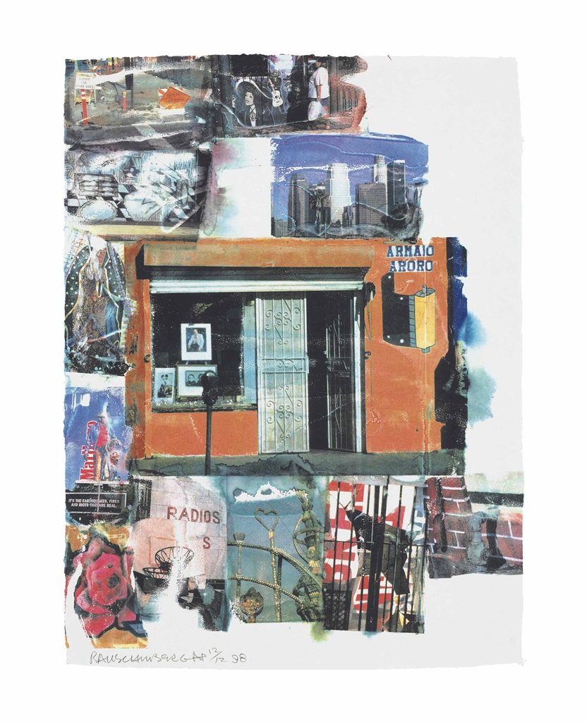 Robert Rauschenberg-L.A. Uncovered #12-1998