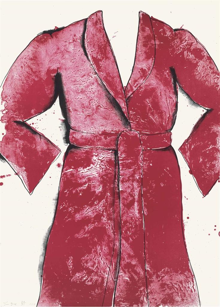 Jim Dine-Red Bathrobe-1969