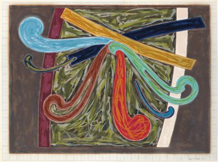 Frank Stella-Puerto Rican Blue Pigeon, from Exotic Bird Series-1977