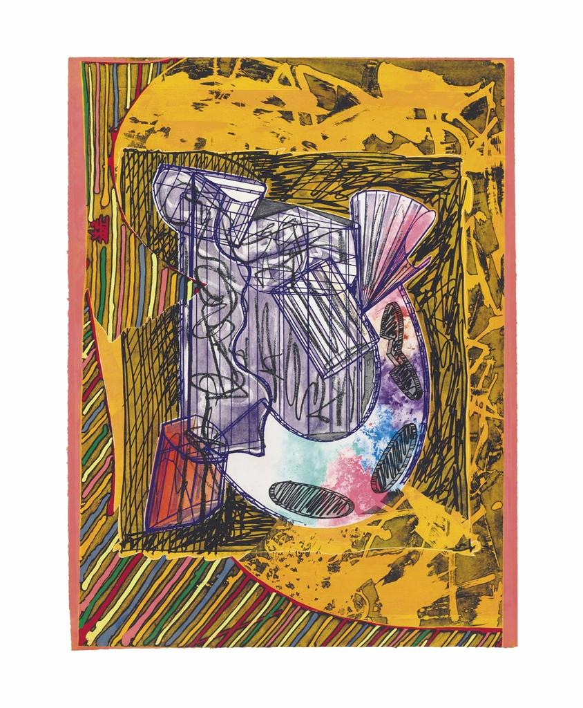 Frank Stella-Bene come il sale-1989