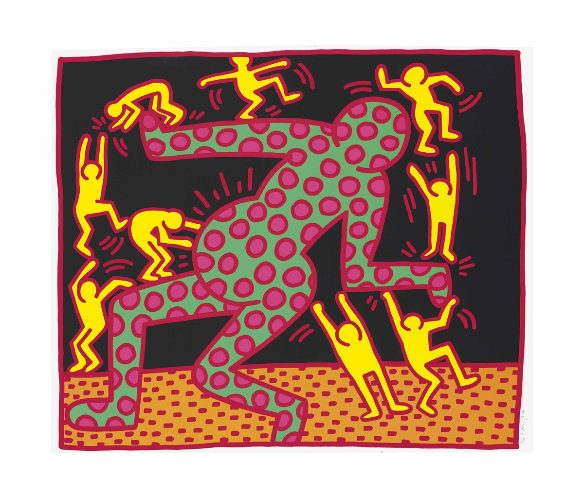 Keith Haring-Fertility Suite: One Print-1983