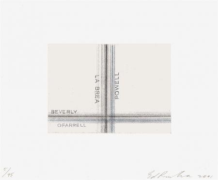 Ed Ruscha-La Brea, Powell-2001