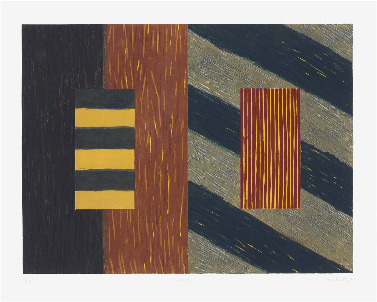 Sean Scully-Passage-1991