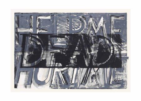 Bruce Nauman-Help Me Hurt Me (State), from Sundry Obras Nuevas-1975