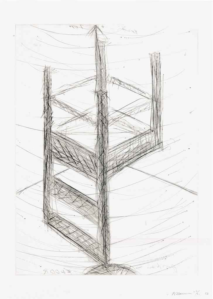 Bruce Nauman-Suspended Chair-1985