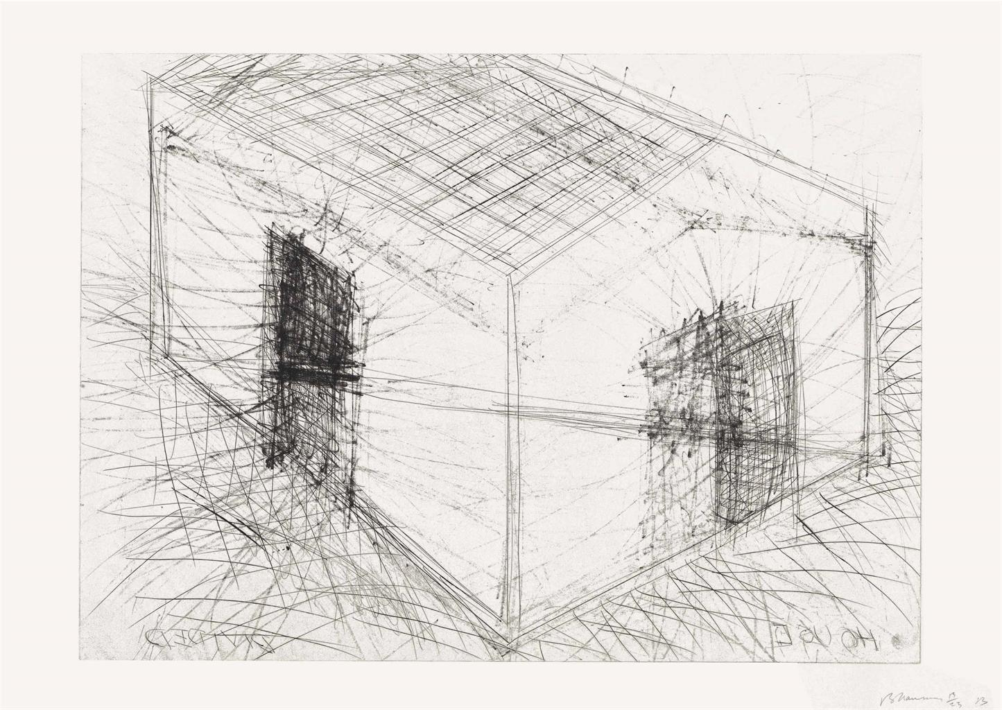 Bruce Nauman-House Divided-1985