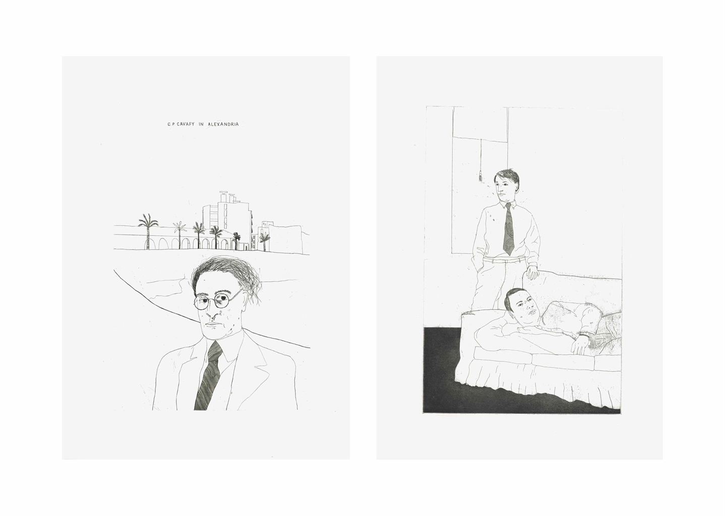 David Hockney-Fourteen Poems by C. P. Cavafy-1981