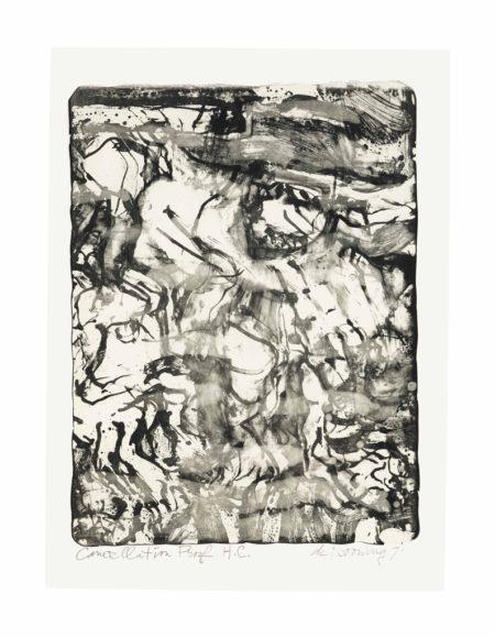 Willem de Kooning-The Preacher-1971