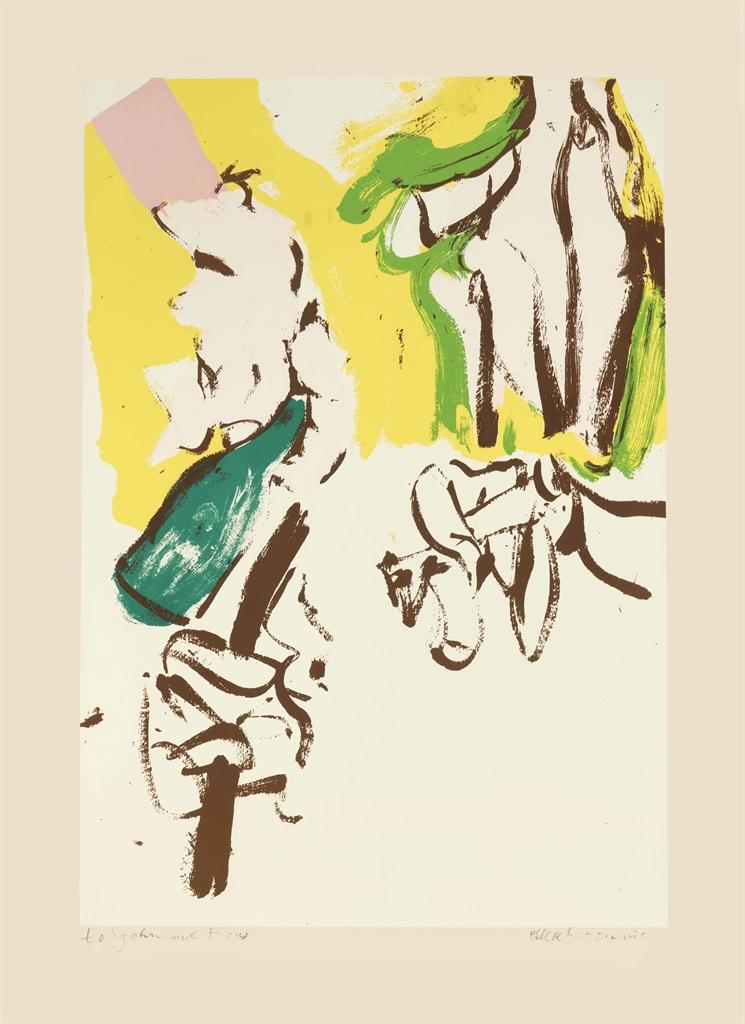Willem de Kooning-Untitled (Beach)-1972