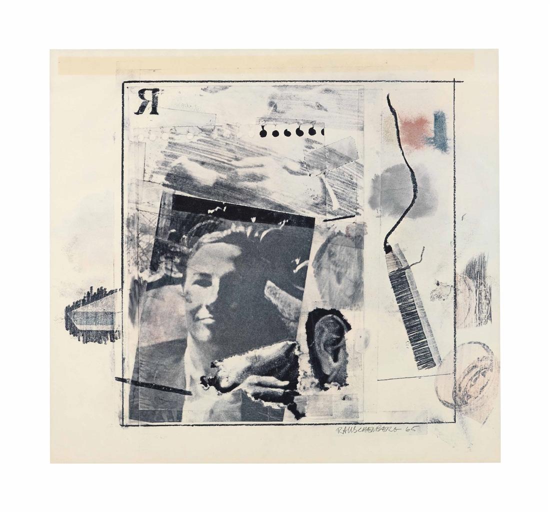 Robert Rauschenberg-Dwan Gallery Poster-1965