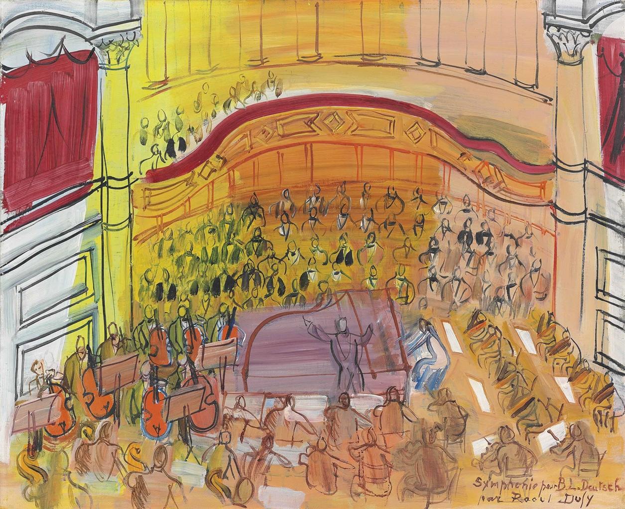 Raoul Dufy-Grand orchestre-1948