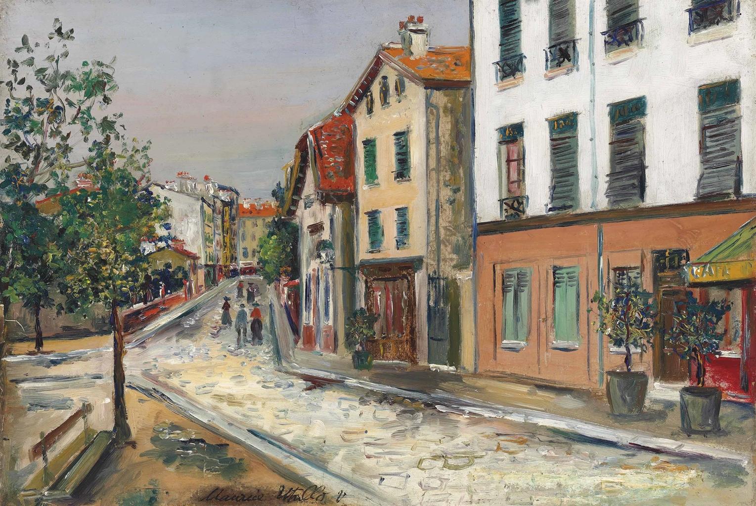 Maurice Utrillo-Rue du XIII(e) Arrondissement a Paris-1919