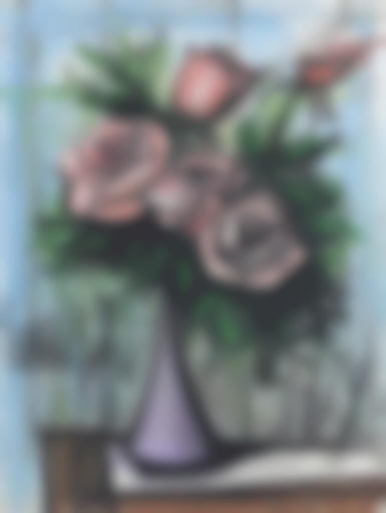 Bernard Buffet-Roses roses-1979