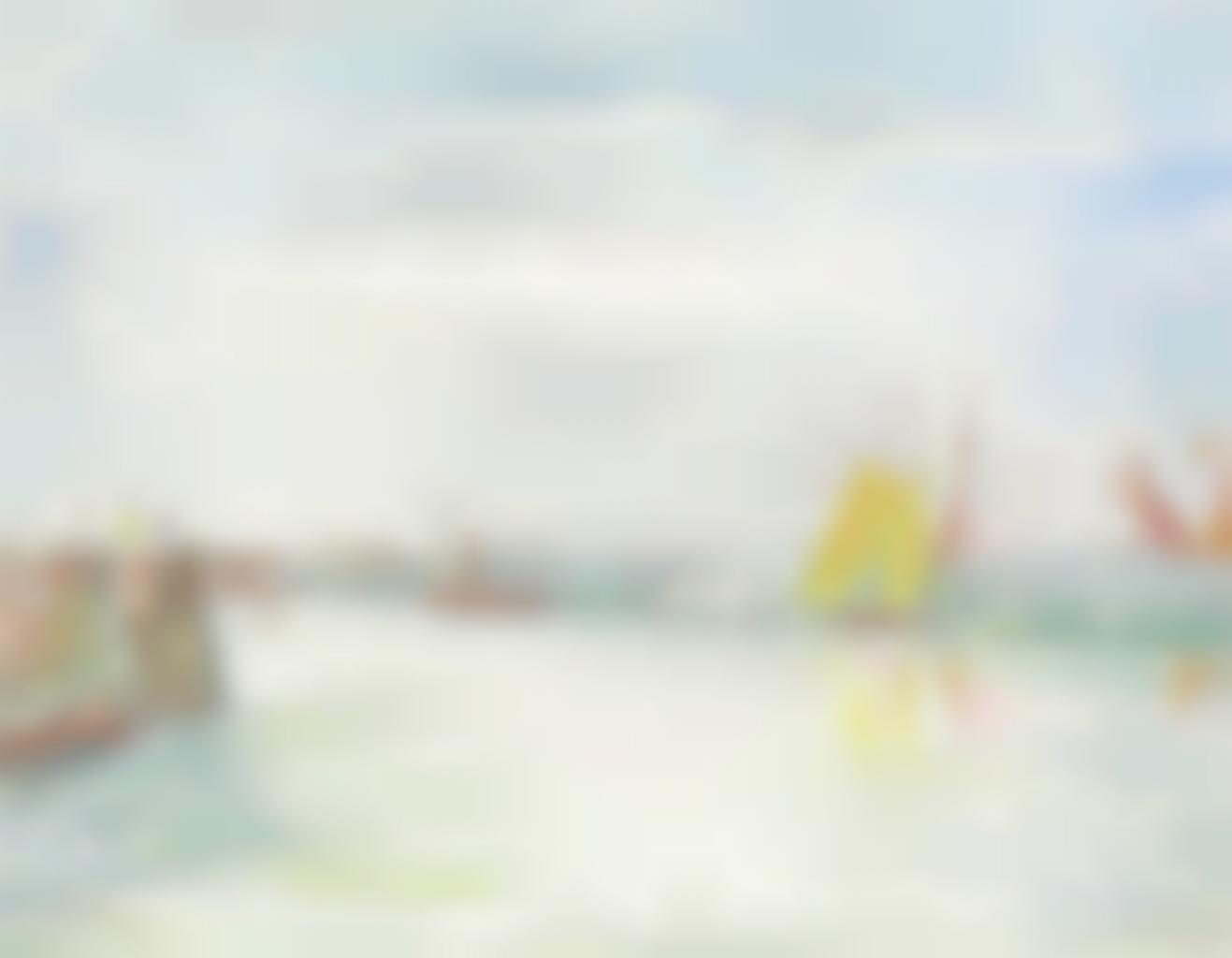 James Ensor-Le port d'Ostende-1936