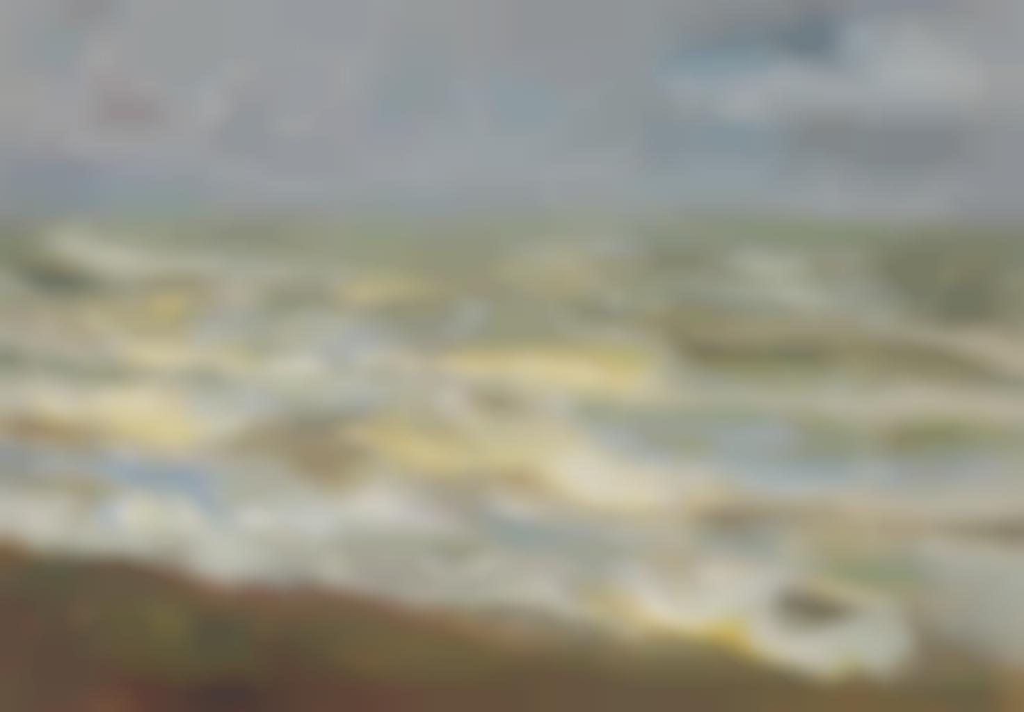 Max Liebermann-Brandung - Meeresstudie-1899
