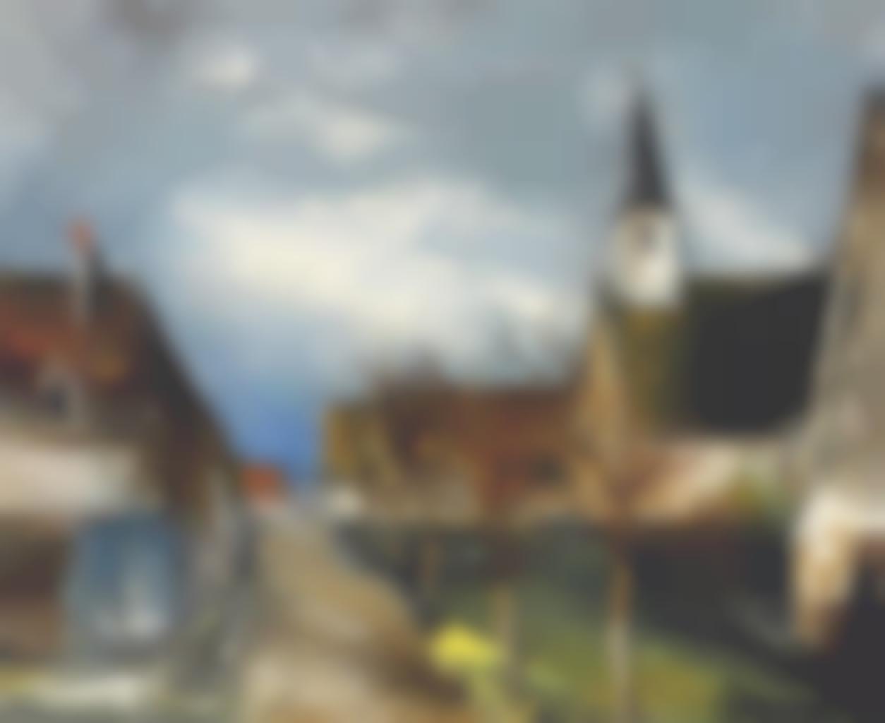 Maurice de Vlaminck-L'eglise du village-