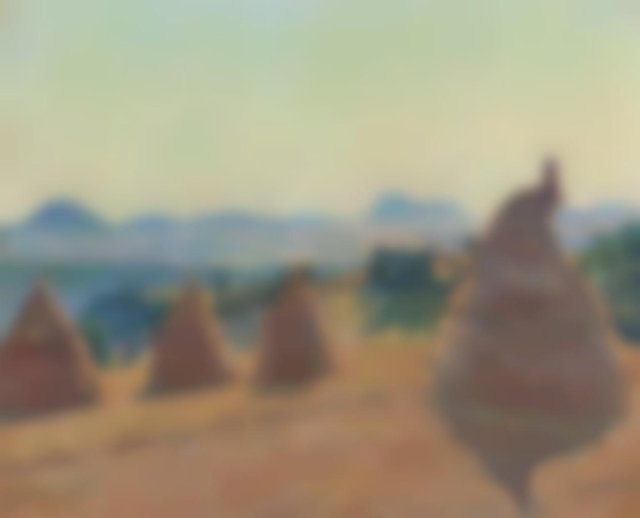 Jean-Baptiste Armand Guillaumin-Le plateau Bromant a Pontgibaud (Puy de Dome)-1890