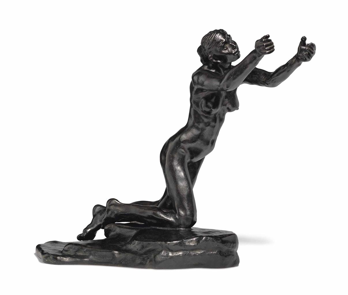 Camille Claudel-L'Implorante, petit modele-1899