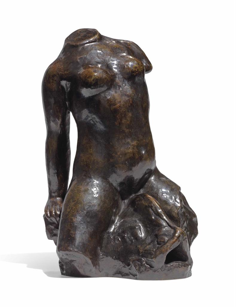 Aristide Maillol-Torse sur un dauphin-1910