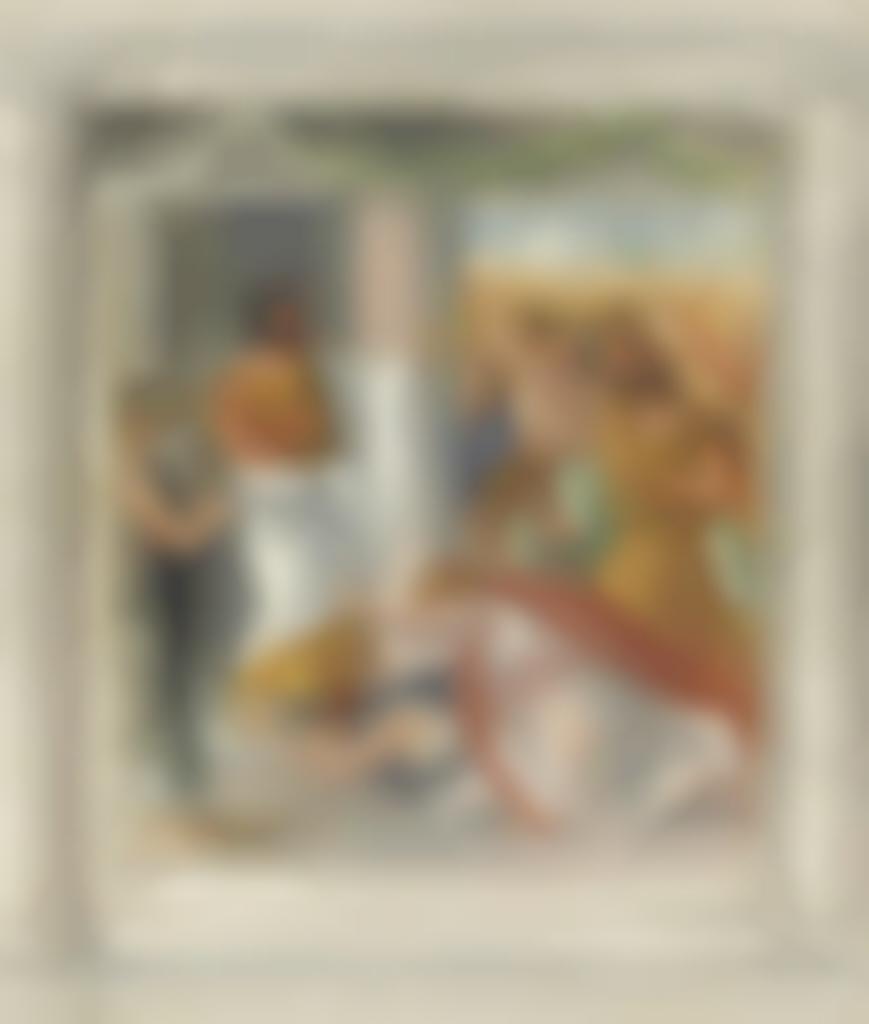 Pierre-Auguste Renoir-Scene d'Oedipe (scene antique)-1895