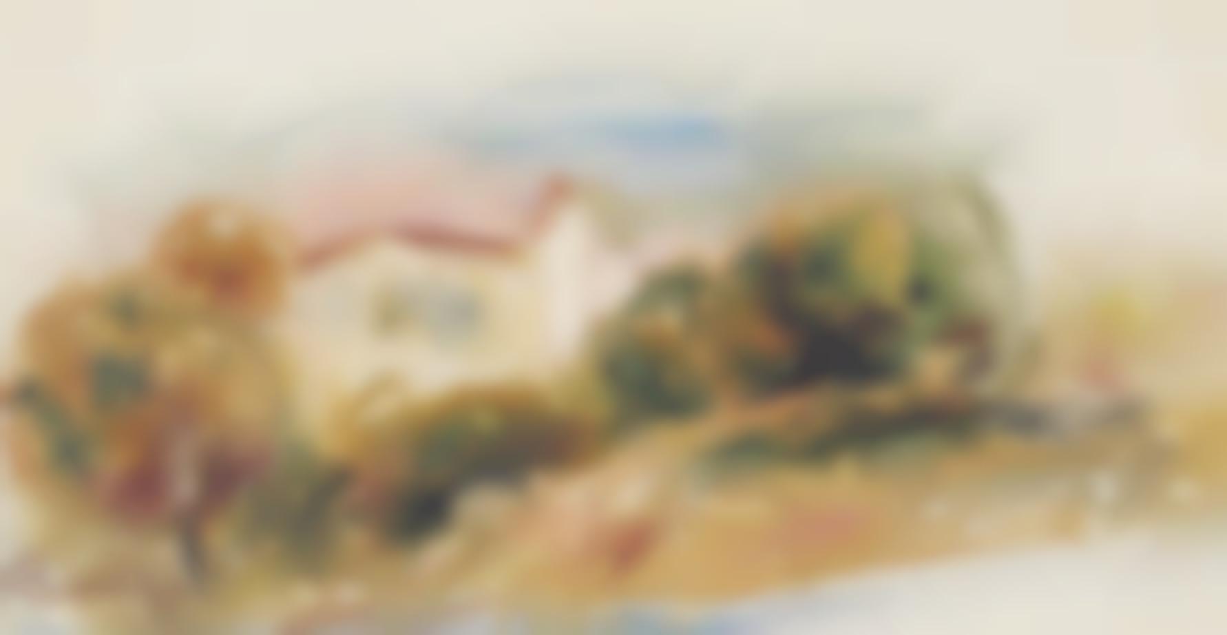Pierre-Auguste Renoir-Paysage-1914