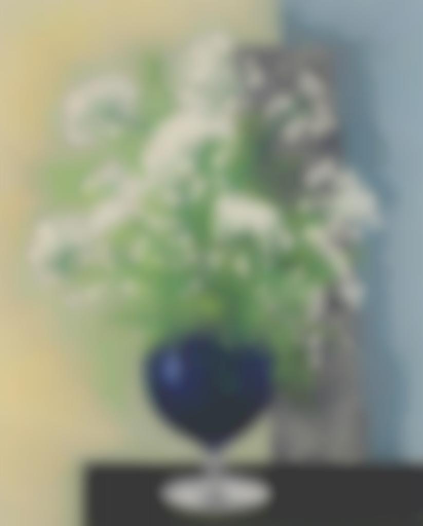 Moise Kisling-Fleurs au vase bleu-1942