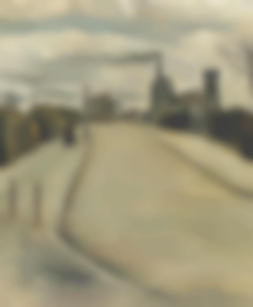 Tsuguharu Foujita-Scene de rue-1917
