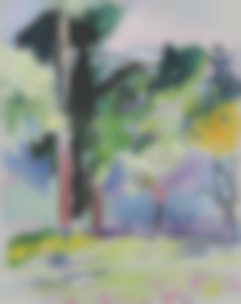 Henri Matisse-Paysage a Collioure-1906