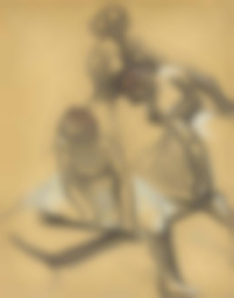 Edgar Degas-Trois danseuses-1889
