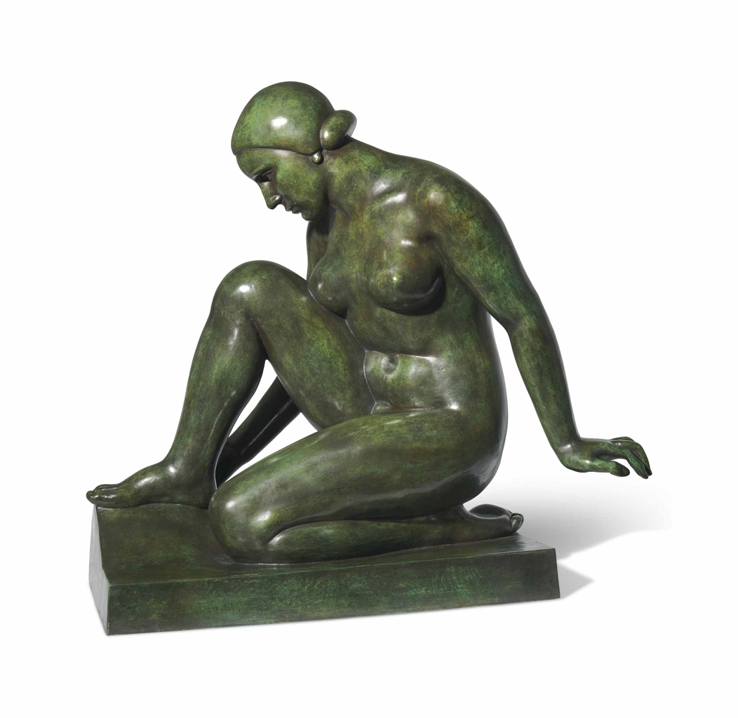 Aristide Maillol-Monument a Claude Debussy-1930