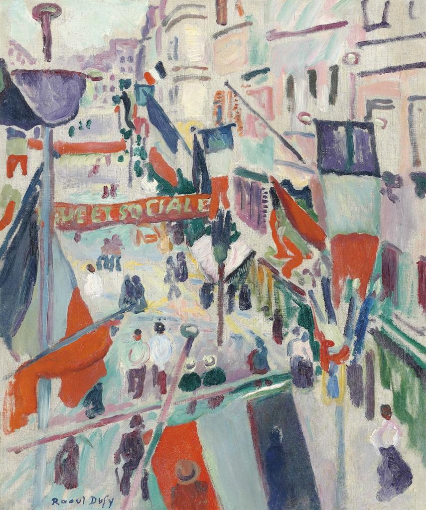 Raoul Dufy-14 juillet-1906