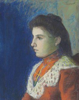 Albert Marquet-Portrait de Clementine-1895