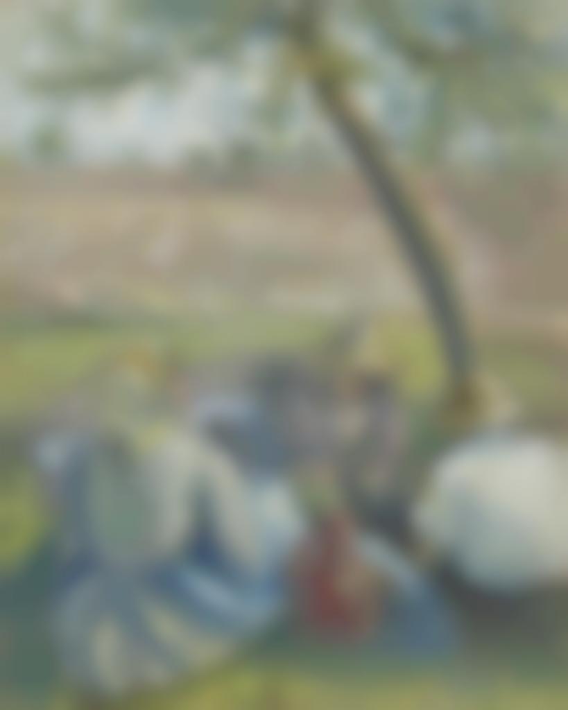 Camille Pissarro-Dans les bles-