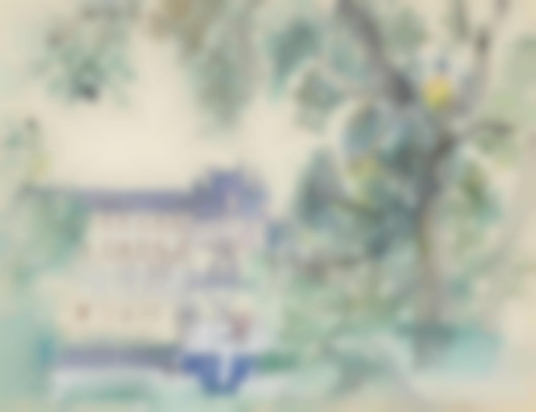 Raoul Dufy-Le chateau de Chenonceaux-1937