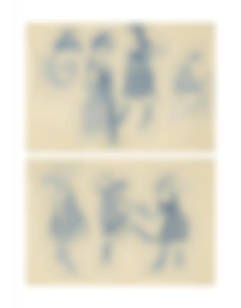 Pablo Picasso-Etude de femmes; Etude de femmes-1901