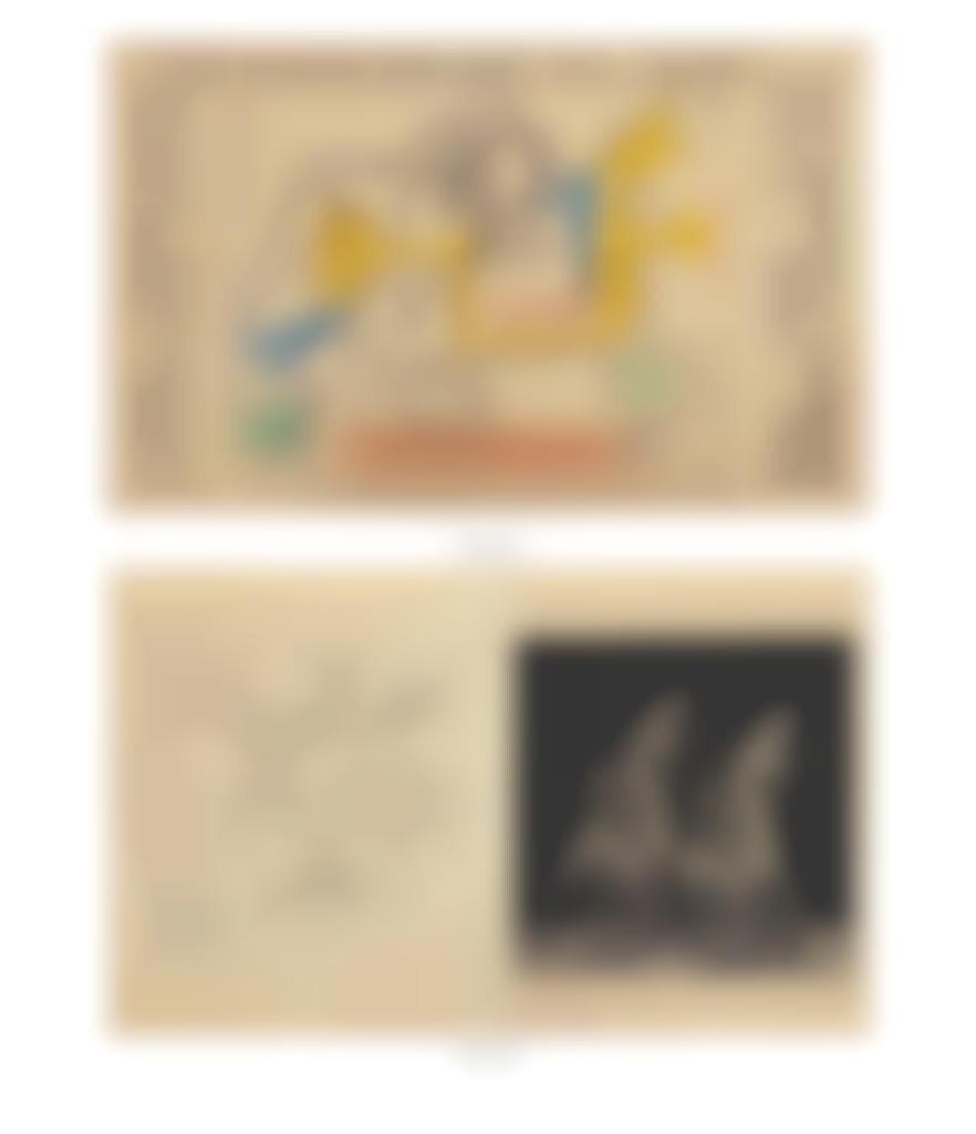 Pablo Picasso-Study for 'Aux Espagnols morts pour la France'-1947
