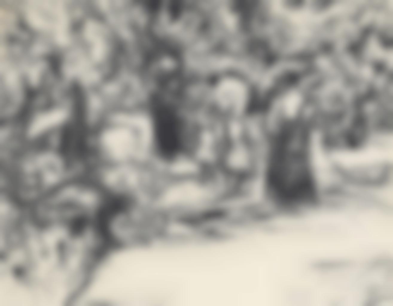 Ernst Ludwig Kirchner-Im Großen Garten in Dresden (Spazierganger im Park)-1907