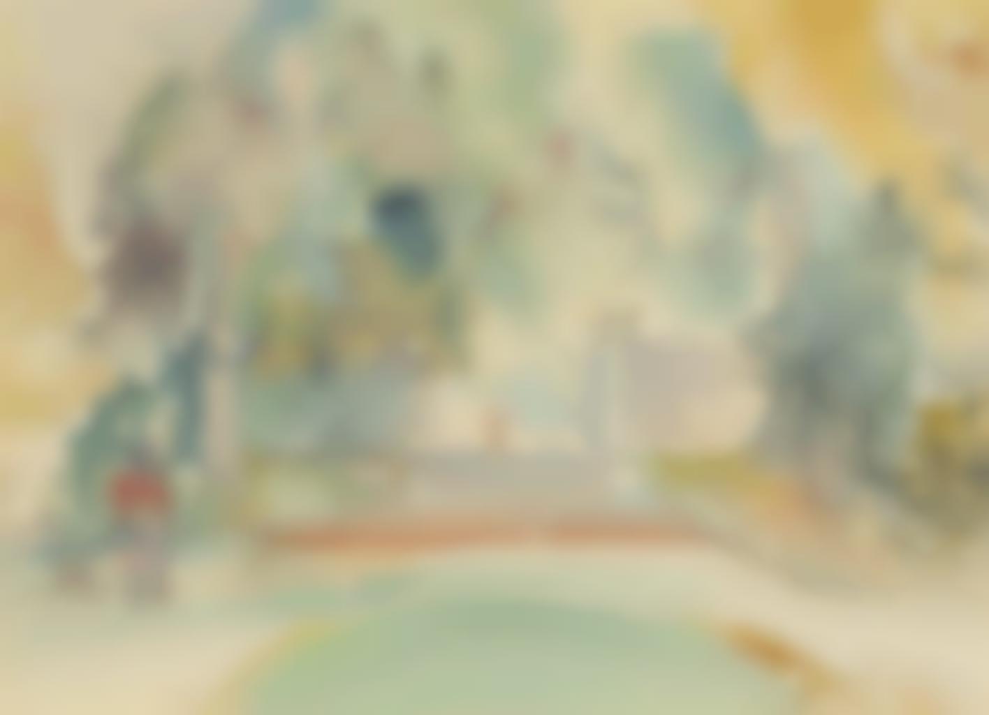 Balthus-Le jardin (Rome)-