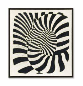 Victor Vasarely-Zebres (Zebras)-1942