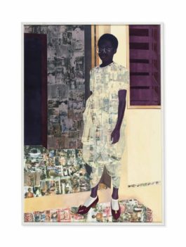 Njideka Akunyili Crosby-The Beautyful Ones-2012